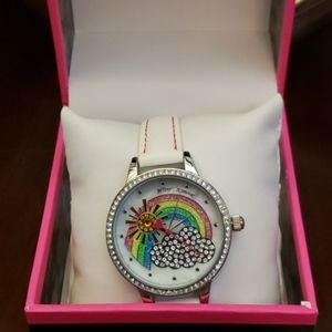 Betsey Johnson sunshine daydream rainbow watch